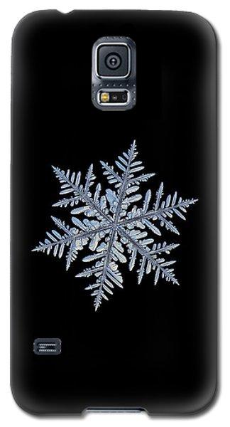 Real Snowflake - Silverware Black Galaxy S5 Case