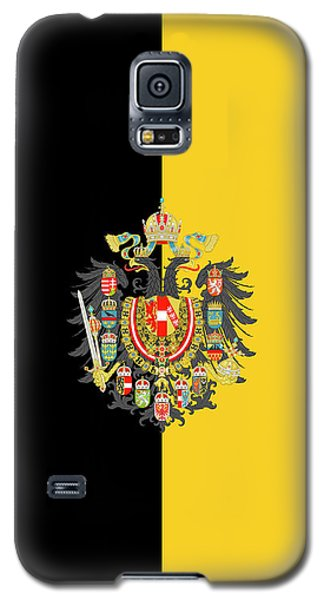 Habsburg Flag With Imperial Coat Of Arms 2 Galaxy S5 Case