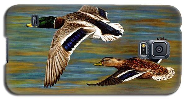 Duck Galaxy S5 Case - Golden Pond by Crista Forest