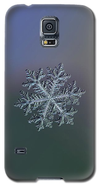 Real Snowflake - Hyperion Dark Galaxy S5 Case