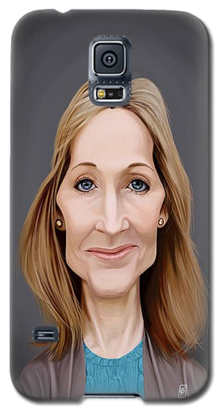 Celebrity Sunday - J.k.rowling Galaxy S5 Case