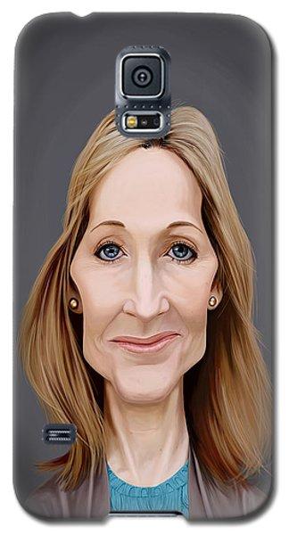 Celebrity Sunday - J.k.rowling Galaxy S5 Case