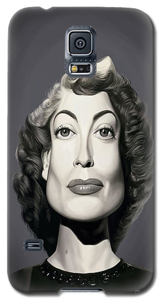 Celebrity Sunday - Joan Crawford Galaxy S5 Case