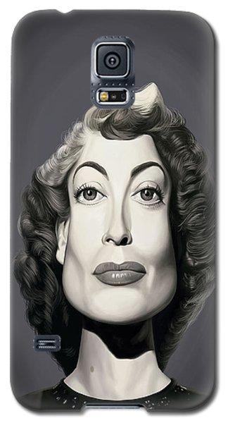 Celebrity Sunday - Joan Crawford Galaxy S5 Case