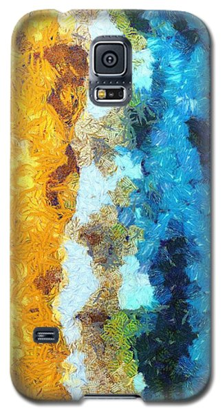 Here Shall Thy Proud Waves Be Stayed Galaxy S5 Case
