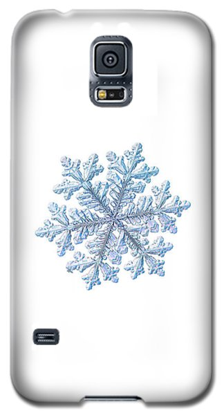 Real Snowflake - Hyperion White Galaxy S5 Case