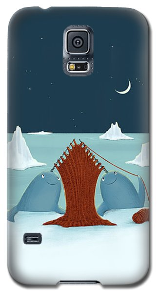 Knitting Narwhals Galaxy S5 Case