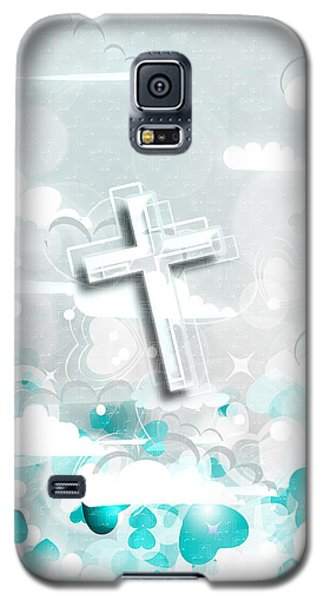 A Heart For Jesus Galaxy S5 Case