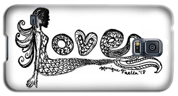 Mermaid Love Galaxy S5 Case