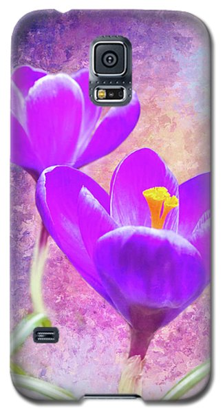 Our First Crocuses This Spring Galaxy S5 Case