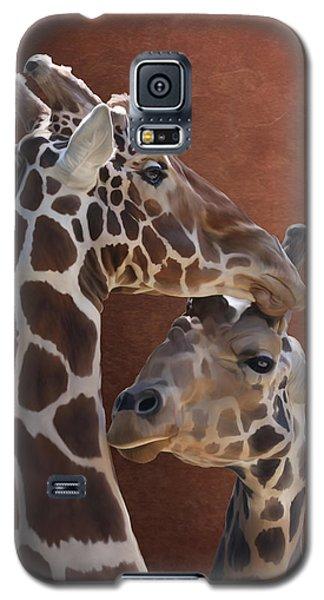 Endearing Giraffes Galaxy S5 Case