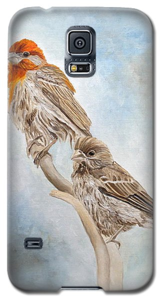 House Finch Couple Galaxy S5 Case