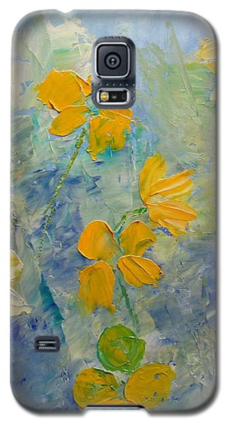 Blossoms In Breeze Galaxy S5 Case