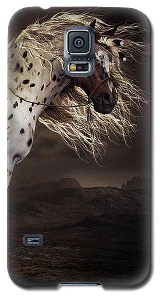 Leopard Appalossa Galaxy S5 Case by Shanina Conway