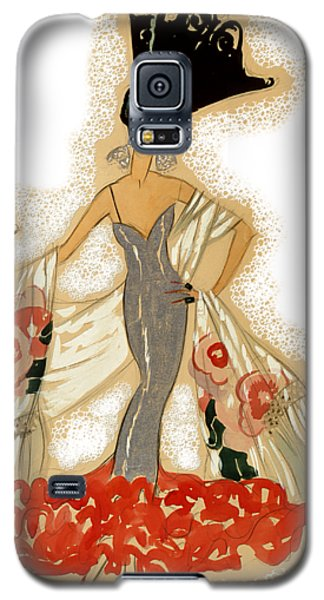 Elegant Woman Galaxy S5 Case