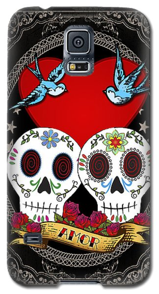 Love Skulls II Galaxy S5 Case by Tammy Wetzel