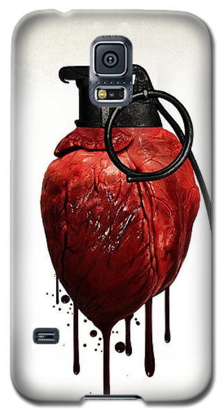 Heart Grenade Galaxy S5 Case