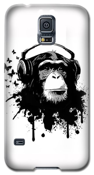 Galaxy S5 Case - Monkey Business by Nicklas Gustafsson