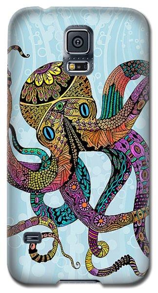 Electric Octopus Galaxy S5 Case by Tammy Wetzel