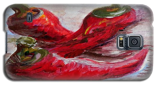 Poppin' Peppers Galaxy S5 Case by Eloise Schneider
