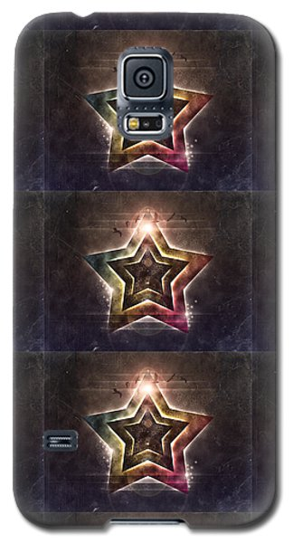 Galaxy S5 Case featuring the digital art Star Lights by Phil Perkins