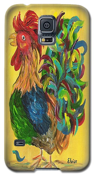 Plucky Rooster  Galaxy S5 Case by Eloise Schneider