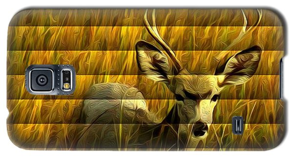 The Buck Poses Here Galaxy S5 Case