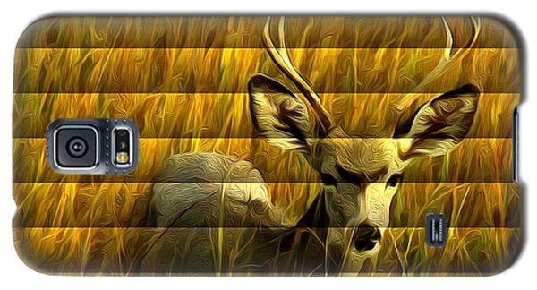 The Buck Poses Here Galaxy S5 Case by Bill Kesler