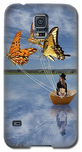 Butterfly Sailing Galaxy S5 Case