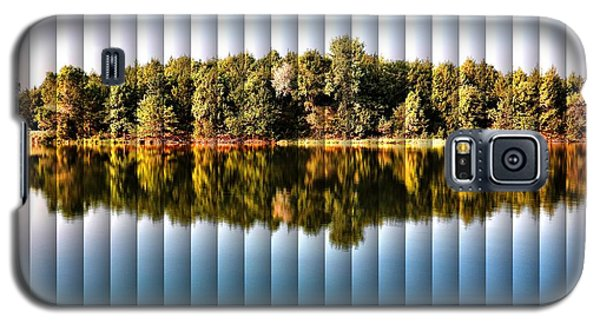 Galaxy S5 Case featuring the photograph When Nature Reflects - The Slat Collection by Bill Kesler