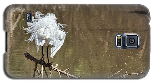 Galaxy S5 Case featuring the photograph Fluff Time by Bill Kesler