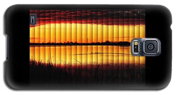 Magnificent Sunrise Swim Galaxy S5 Case by Bill Kesler