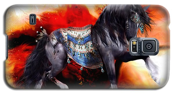 Kachina Hopi Spirit Horse  Galaxy S5 Case by Shanina Conway