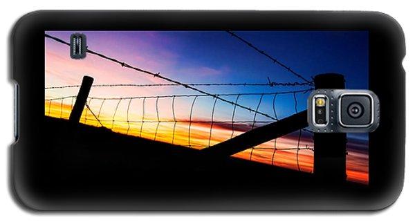Hilltop Sunset Galaxy S5 Case