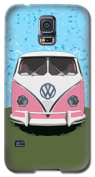 The Pink Love Bus Galaxy S5 Case by Bruce Stanfield