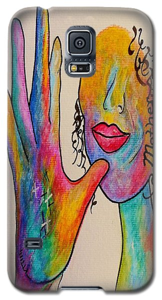American Sign Language . . .  Mother Galaxy S5 Case by Eloise Schneider
