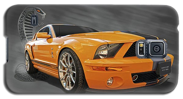 Cobra Power - Shelby Gt500 Mustang Galaxy S5 Case