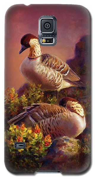 First Light Nene Hawaiian Goose Galaxy S5 Case
