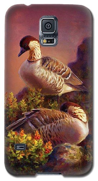First Light Nene Hawaiian Goose Galaxy S5 Case
