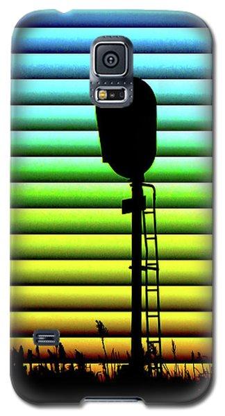 Signal At Dusk Galaxy S5 Case