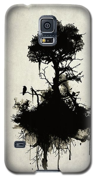 Raven Galaxy S5 Case - Last Tree Standing by Nicklas Gustafsson