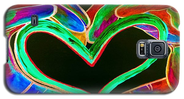 Universal Sign For Love Galaxy S5 Case by Eloise Schneider