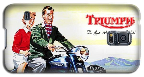 Triumph 1953 Galaxy S5 Case by Mark Rogan