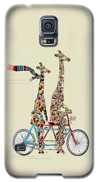 Giraffe Days Lets Tandem Galaxy S5 Case by Bri B