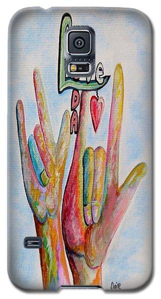 Coda - Children Of Deaf Adults Galaxy S5 Case by Eloise Schneider