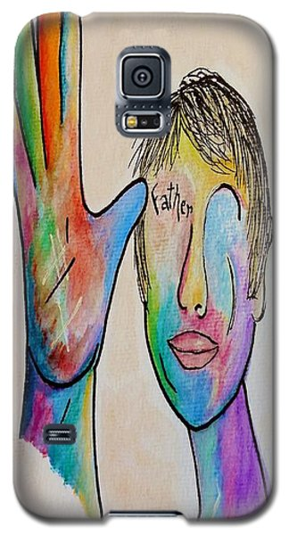 American Sign Language  Father Galaxy S5 Case by Eloise Schneider