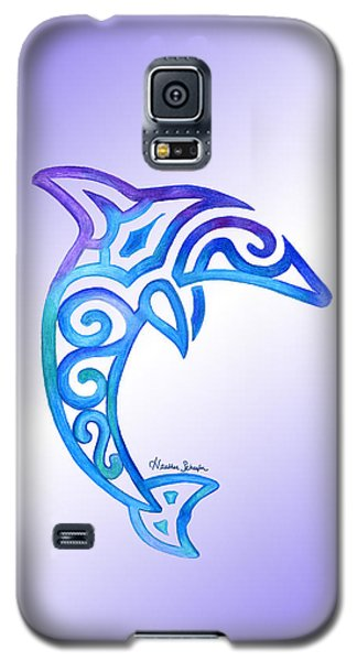 Dolphin Galaxy S5 Case
