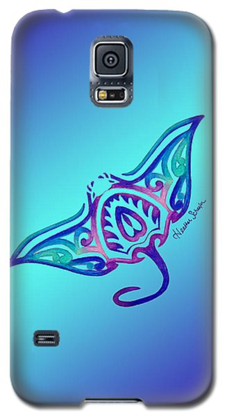 Tribal Manta Ray Galaxy S5 Case