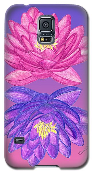 Sunrise Sunset Lotus Galaxy S5 Case