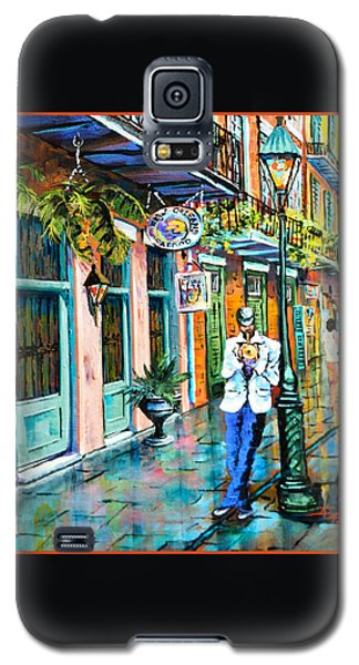 Jazz'n Galaxy S5 Case by Dianne Parks